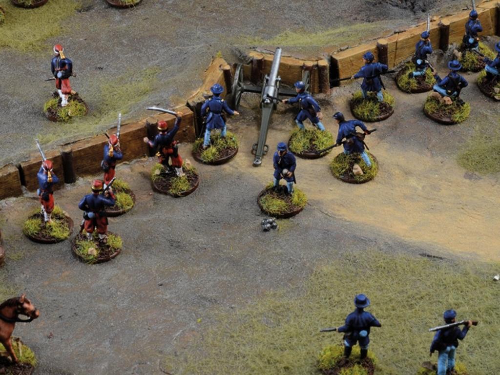 Batalla de granjas - Guerra Civil Americ  (Vista 6)