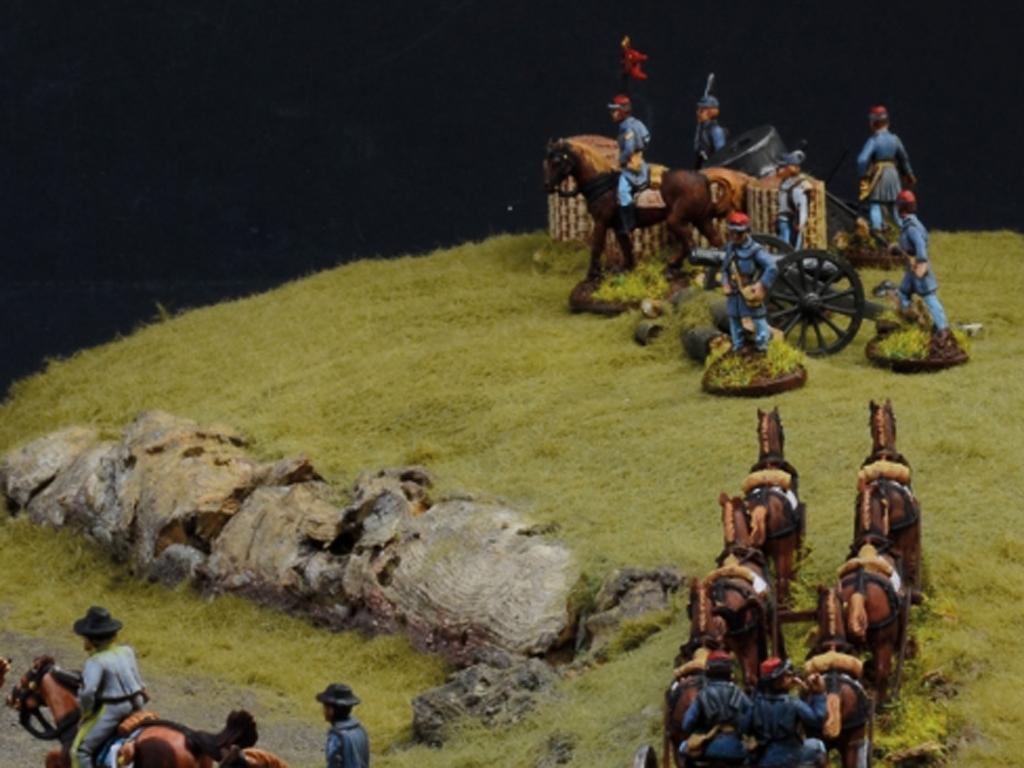 Batalla de granjas - Guerra Civil Americ  (Vista 8)