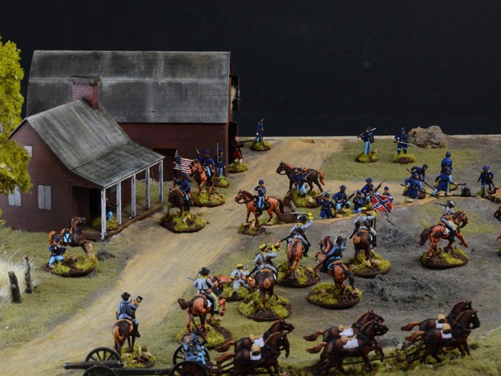 Batalla de granjas - Guerra Civil Americ  (Vista 9)