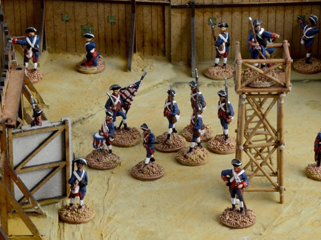 Guerra de Franceses e Indios 1754  (Vista 11)