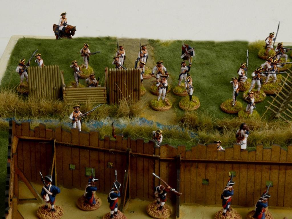 Guerra de Franceses e Indios 1754  (Vista 5)