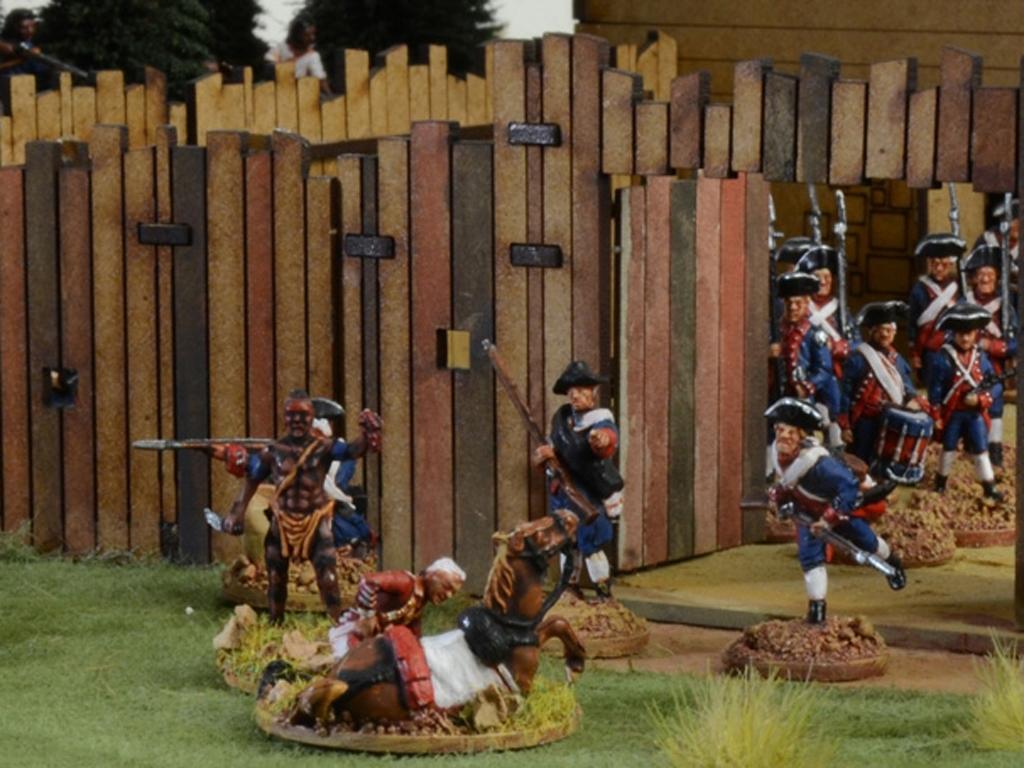 Guerra de Franceses e Indios 1754  (Vista 6)