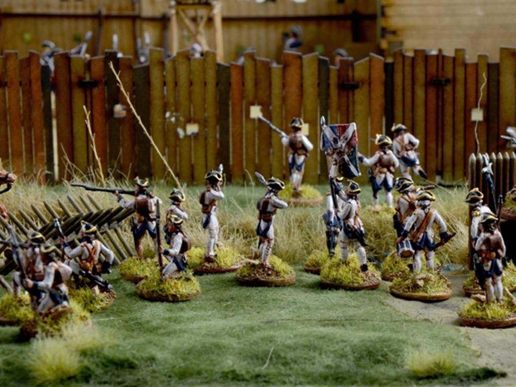 Guerra de Franceses e Indios 1754  (Vista 9)