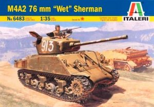 Tanque Sherman  M4 A2 76mm. WET  (Vista 1)