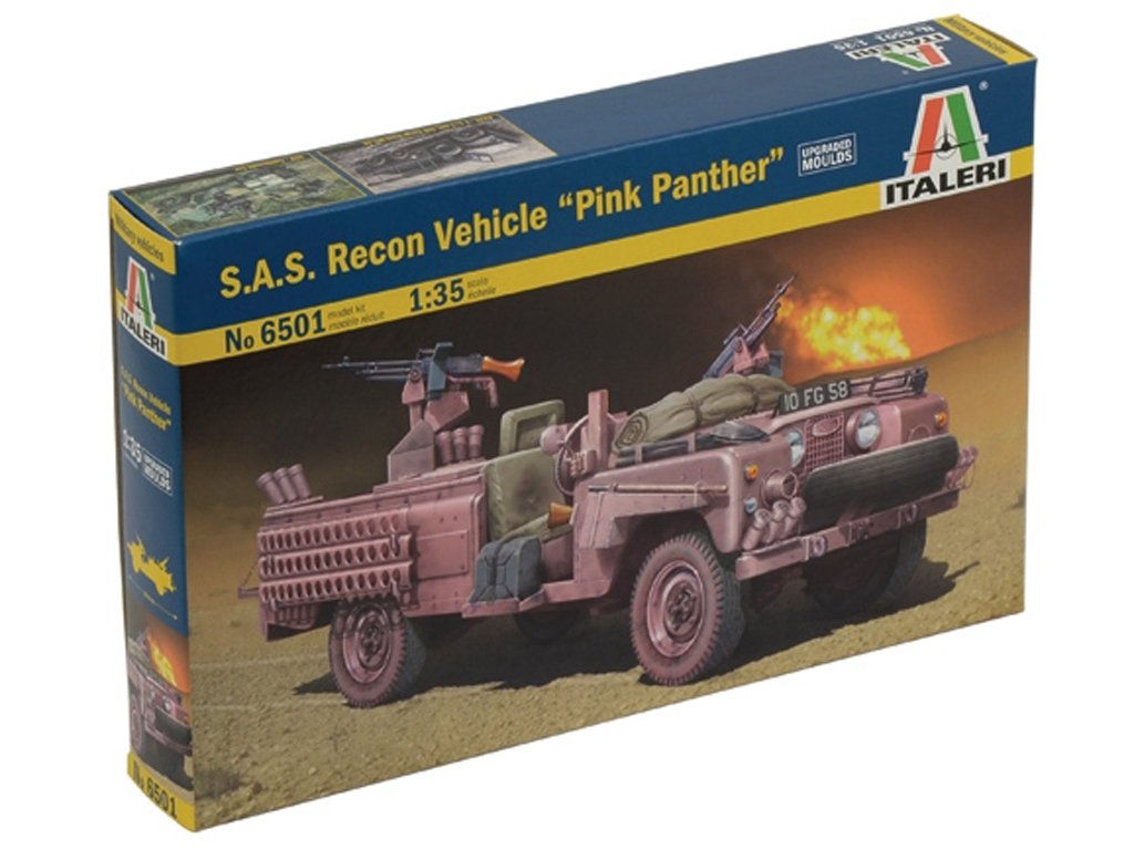 Land Rove S.A.S. Recon Vehicle  (Vista 1)