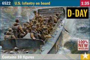 U.S. Infanterie An Bord  (Vista 1)