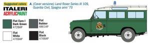 Land Rover Series III 109 Guardia Civil  (Vista 3)