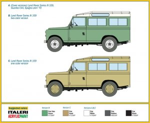 Land Rover Series III 109 Guardia Civil  (Vista 4)