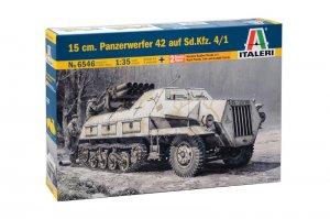 Panzerwerfer 42 AUF SD.KFZ. 4/1 15 cm  (Vista 1)