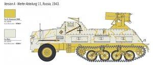 Panzerwerfer 42 AUF SD.KFZ. 4/1 15 cm  (Vista 3)