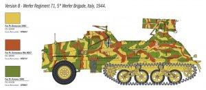 Panzerwerfer 42 AUF SD.KFZ. 4/1 15 cm  (Vista 4)