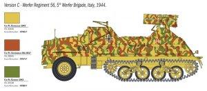 Panzerwerfer 42 AUF SD.KFZ. 4/1 15 cm  (Vista 5)