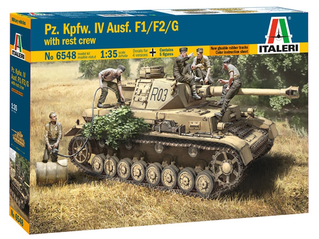 Pz.Kpfw. IV Ausf. F1/F2/G  (Vista 1)