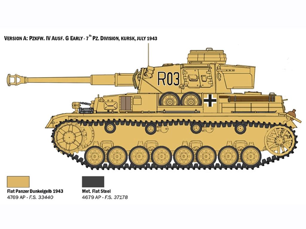 Pz.Kpfw. IV Ausf. F1/F2/G  (Vista 3)