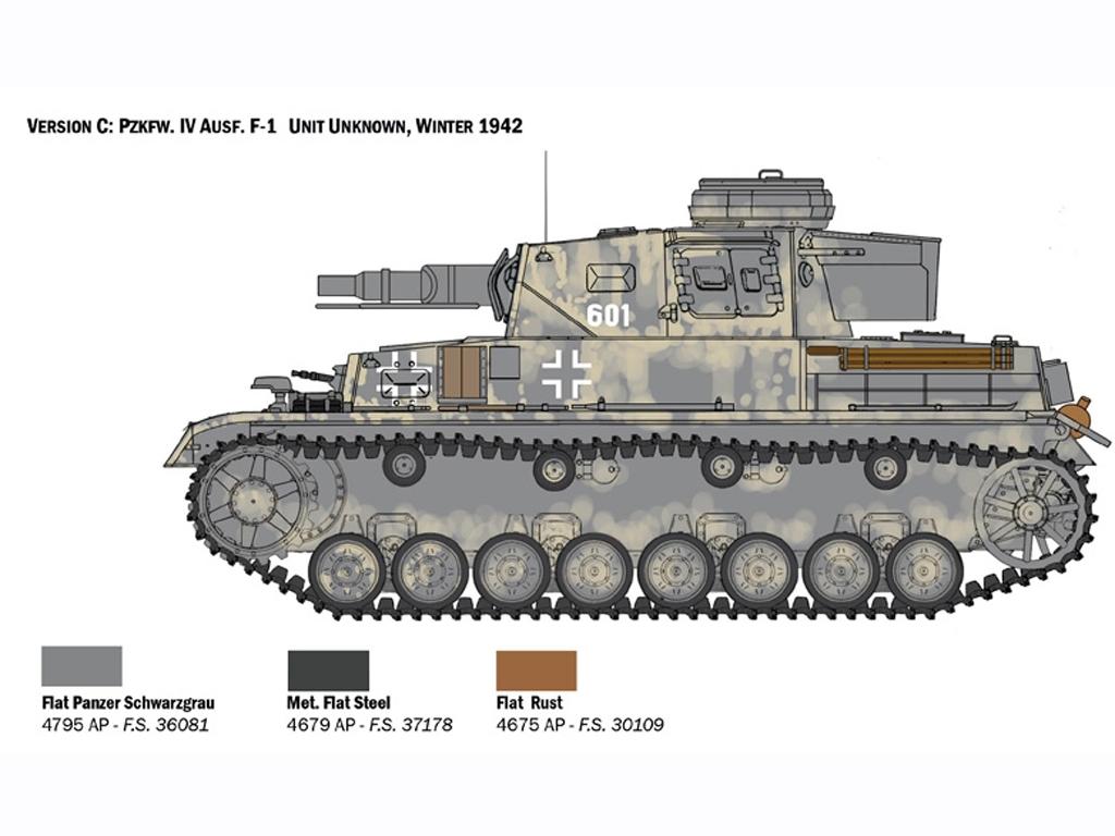 Pz.Kpfw. IV Ausf. F1/F2/G  (Vista 5)