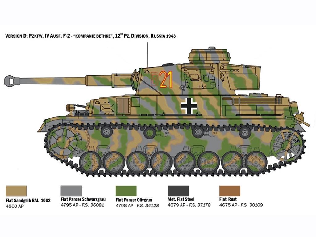 Pz.Kpfw. IV Ausf. F1/F2/G  (Vista 6)