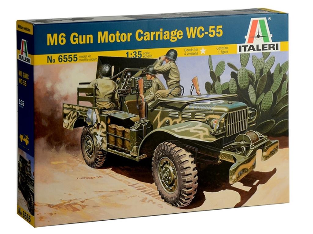 M6 Gun Motor Carriage WC-55  (Vista 1)