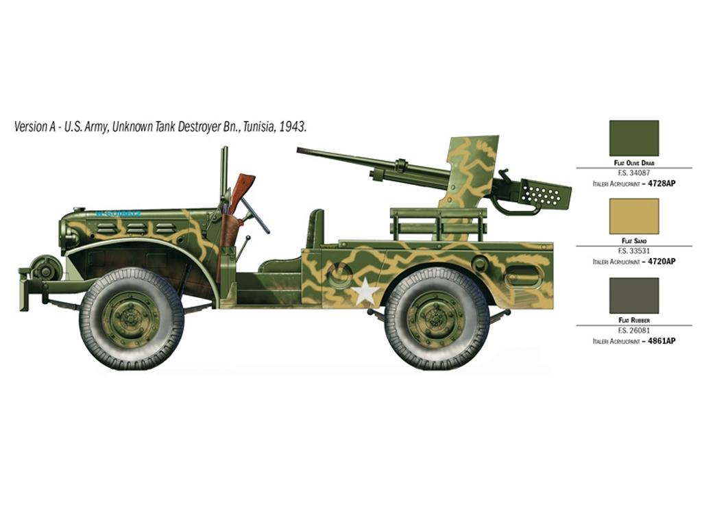M6 Gun Motor Carriage WC-55  (Vista 3)