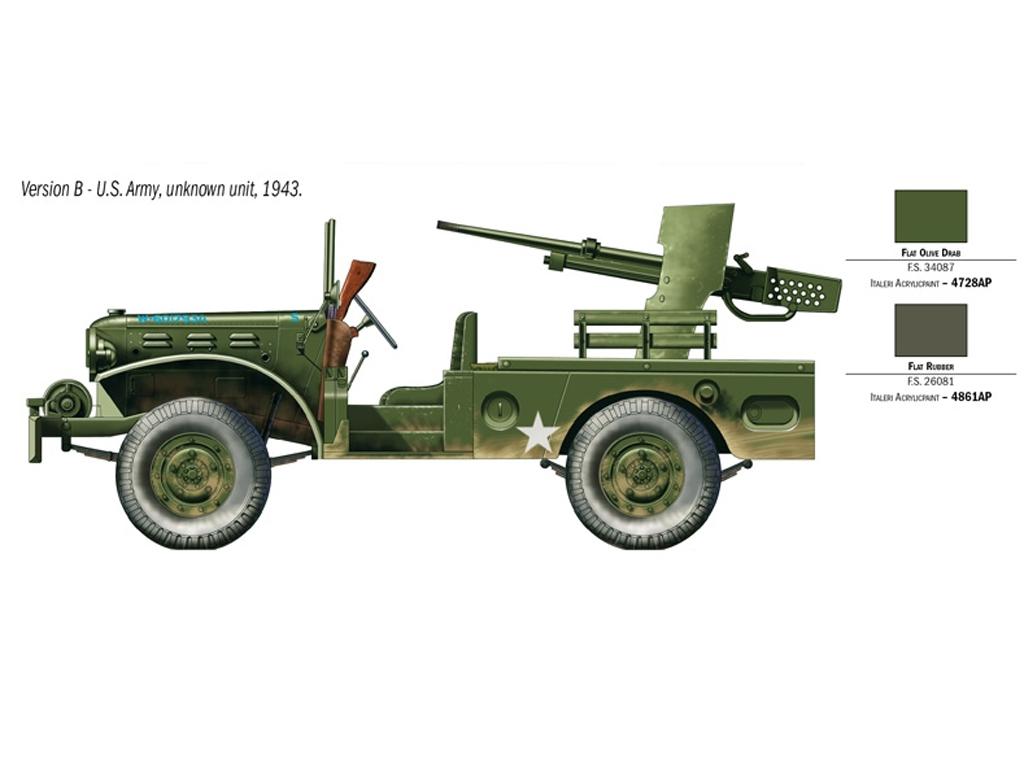 M6 Gun Motor Carriage WC-55  (Vista 4)