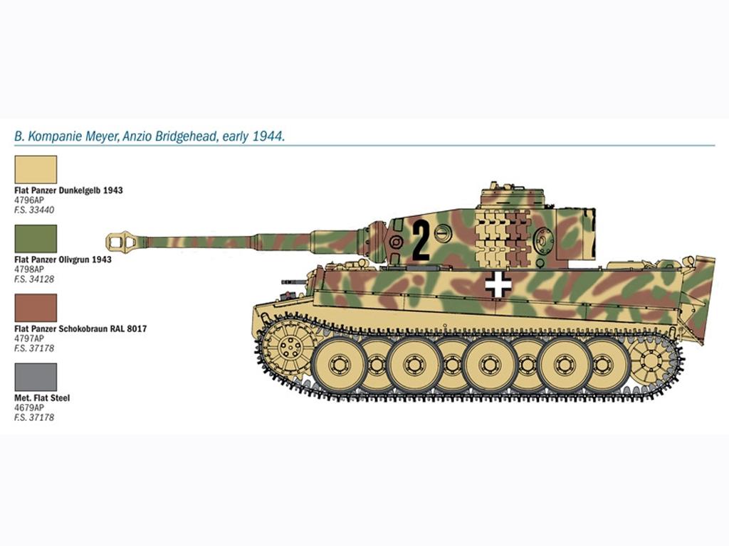 PZ. KPFW. VI Tiger Ausf. E  (Vista 4)