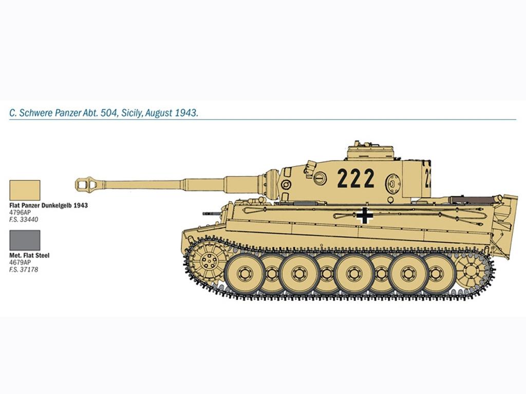 PZ. KPFW. VI Tiger Ausf. E  (Vista 5)