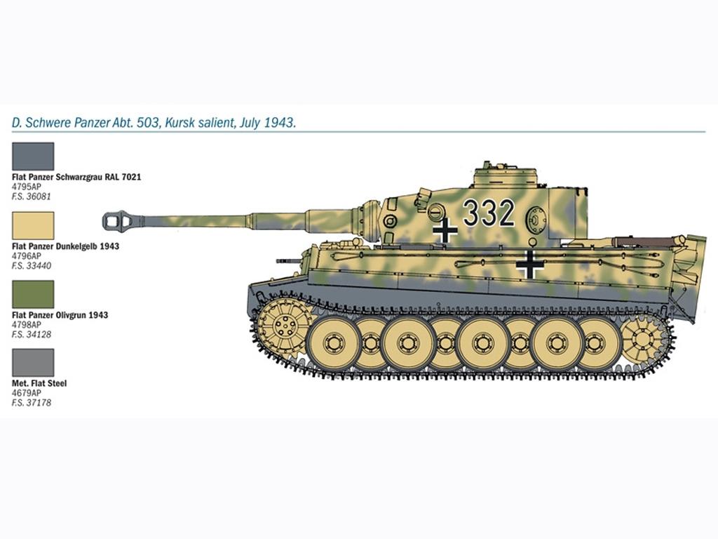 PZ. KPFW. VI Tiger Ausf. E  (Vista 6)