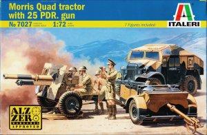 Morris Quad Tractor/25 PDR. Gun  (Vista 1)