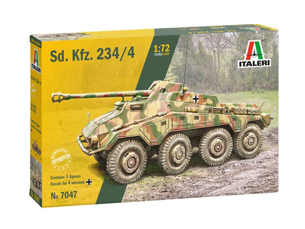 Vehiculo Blindado SD.KFZ. 234/4 6 Ruedas  (Vista 1)
