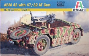 Vehiculo Blindaddo ABM 42 Con Cañon AT   (Vista 1)