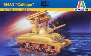Sherman M4 A1 Calliope  (Vista 1)