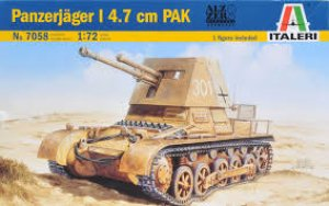 Panzerjager I con cañon Pak 4.7 cm.  (Vista 1)