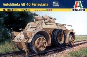 Autoblinda AB 40 Ferroviaria  (Vista 1)