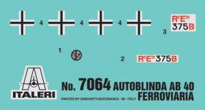 Autoblinda AB 40 Ferroviaria  (Vista 5)