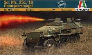 Sd. Kfz. 251/16 Flammpanzerwagen  (Vista 1)