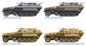 Sd. Kfz. 251/16 Flammpanzerwagen  (Vista 3)