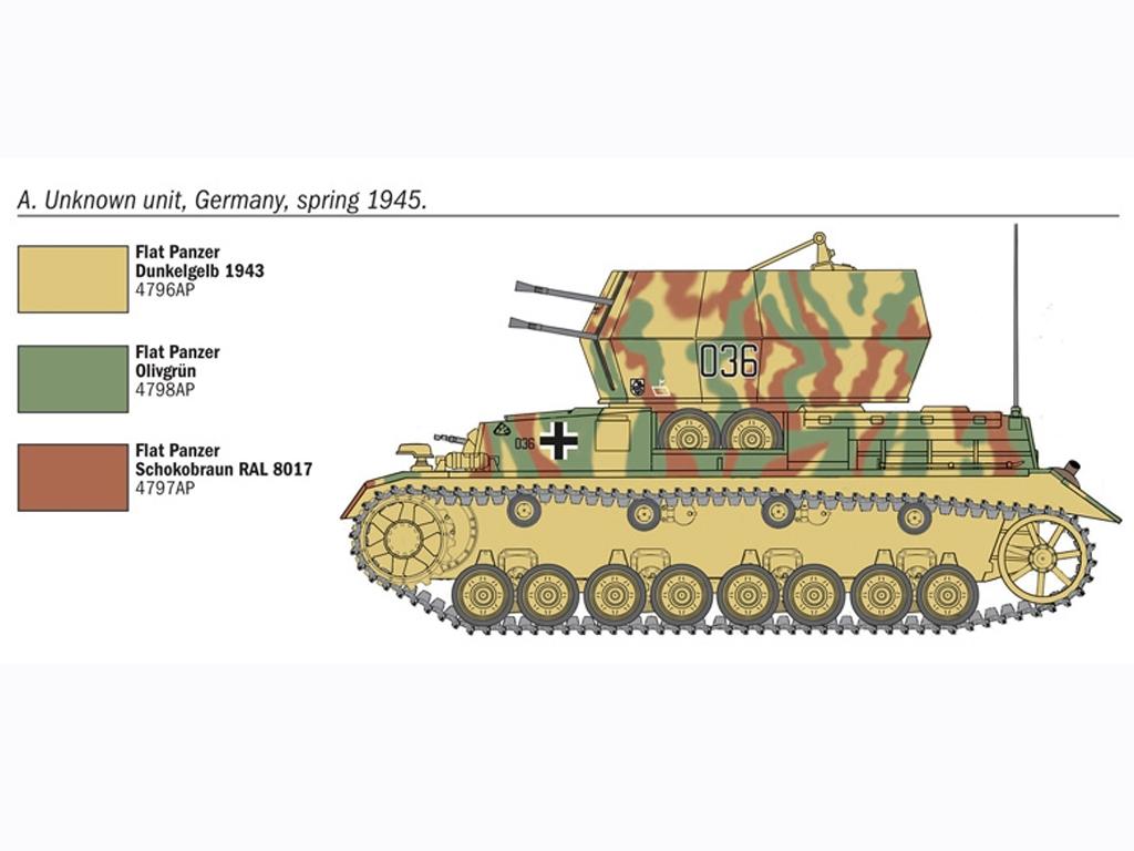 Flakpanzer IV Wirbelwinds  (Vista 3)