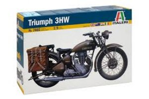 Triumph 3WH WWII Motorcycle  (Vista 1)