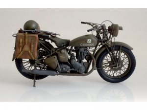 Triumph 3WH WWII Motorcycle  (Vista 2)