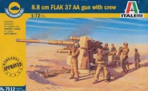 8.8 cm. FLAK 37 AA Gun  (Vista 1)