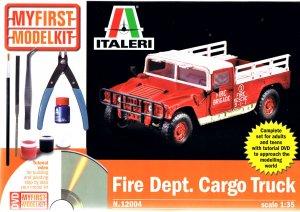 Fire Departement Cargo Truck   (Vista 1)