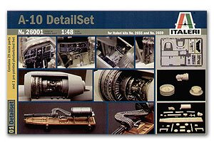 Set de detalle para el A-10A Thunderbolt  (Vista 1)