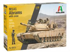 M1A1 Abrams with infantry - Ref.: ITAL-06571