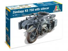 Zundapp KS 750 con Sidecar - Ref.: ITAL-07406