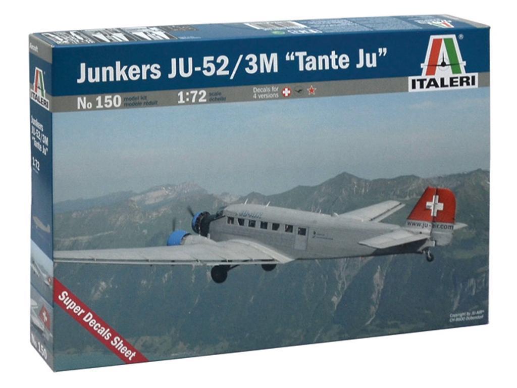 Junkers JU-52/3 M tante Ju (Vista 1)