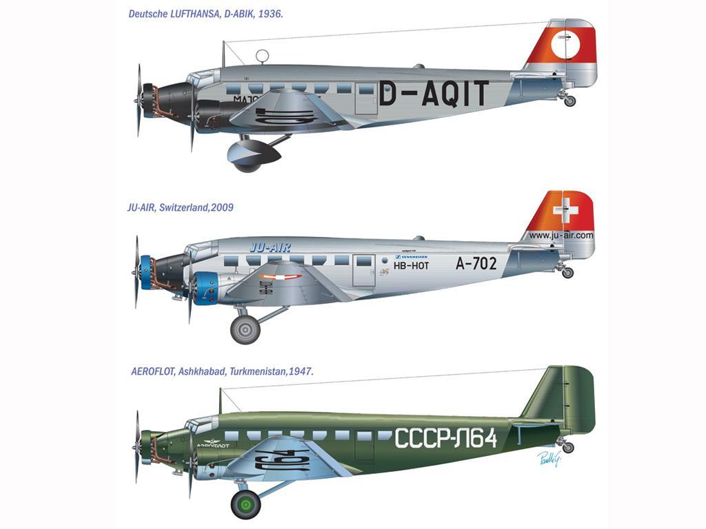 Junkers JU-52/3 M tante Ju (Vista 2)