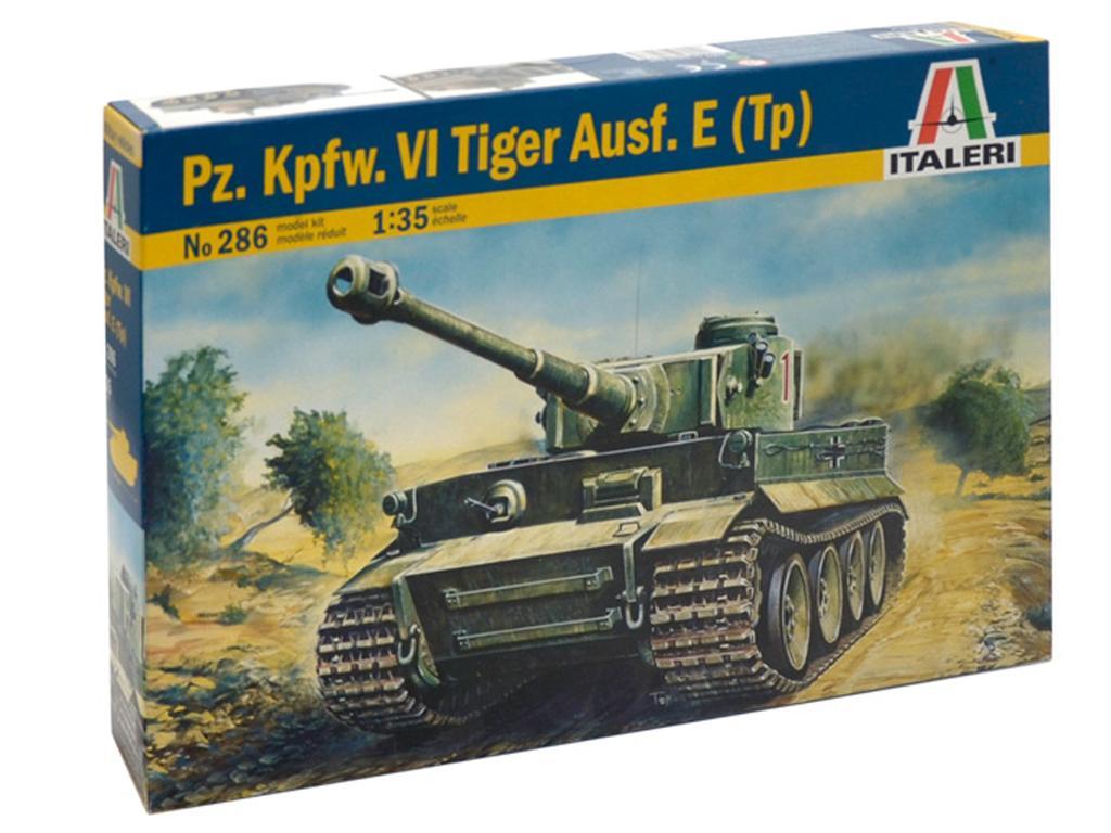 Tiger I Ausf. E/H 1 (Vista 1)