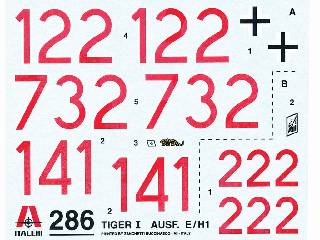 Tiger I Ausf. E/H 1 (Vista 2)