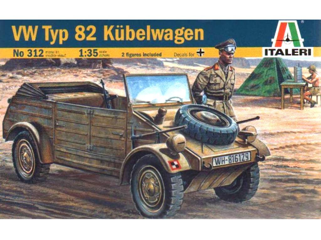 Volkswagen Modelo 82 Kubelwagen (Vista 1)