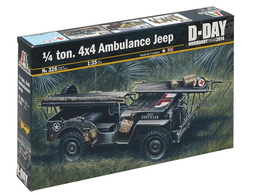 Jeep Ambulancia 1/4 ton. 4x4  (Vista 1)