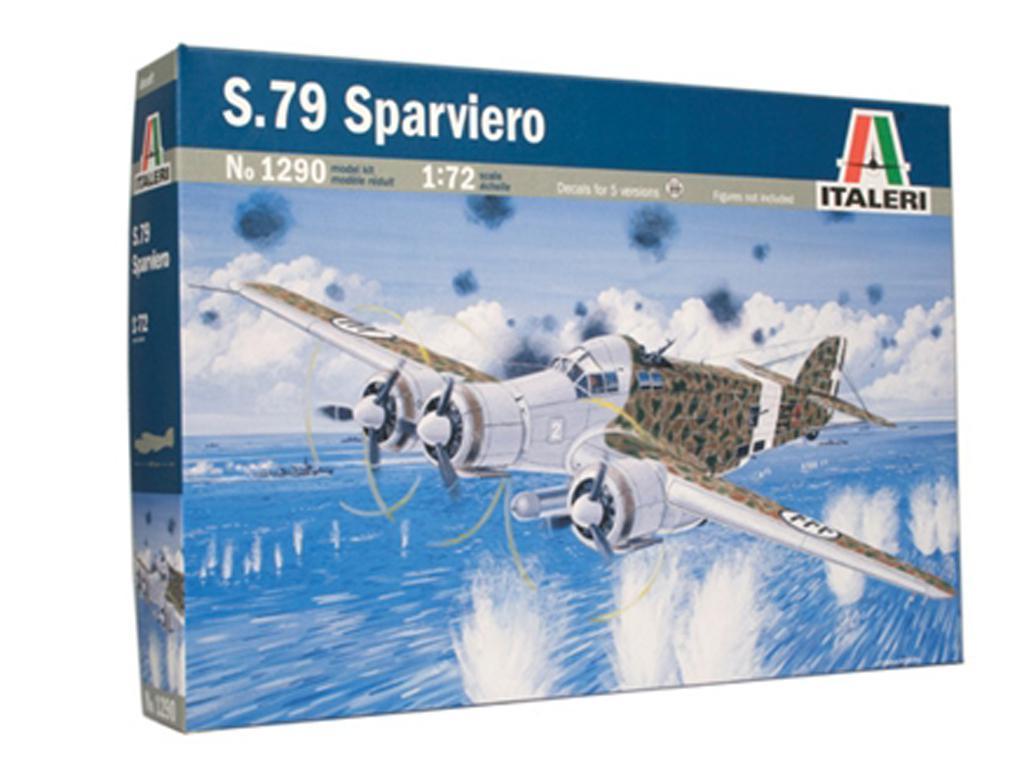 SM-79 Sparviero (Vista 1)